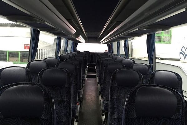 Mercedes bus interior Latvia