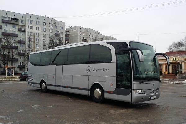Riga bus rental service