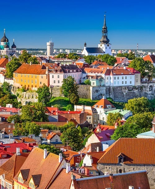 Tallinn, Estonia city and day tours