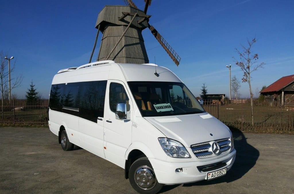 Minibus in Minsk