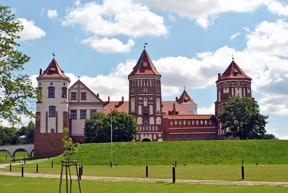 Mirskiy Castle Day tour from Minsk