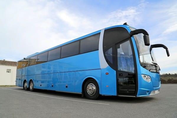 Coach bus rental Warsaw, Poland