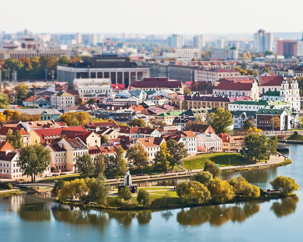 City tour in Minsk