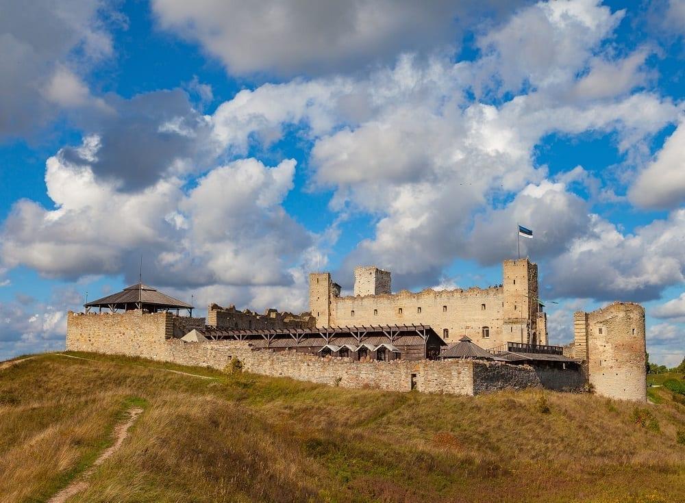 84119763 - medieval castle in rakvere, estonia