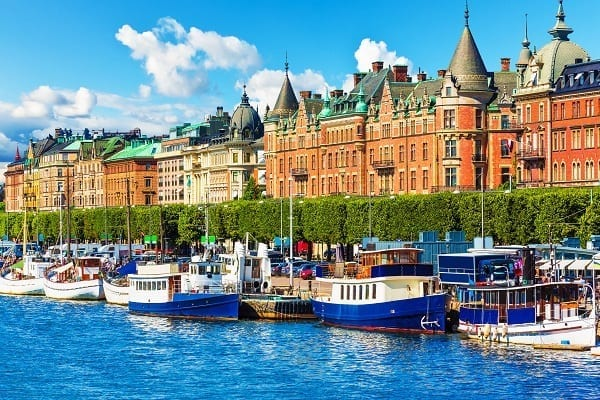 Shore excursions Stockholm, Sweden