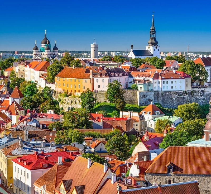 Tallinn old town walking tour