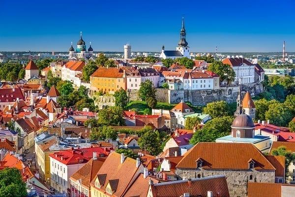 Baltic Countries Tour, Tallinn, Estonia