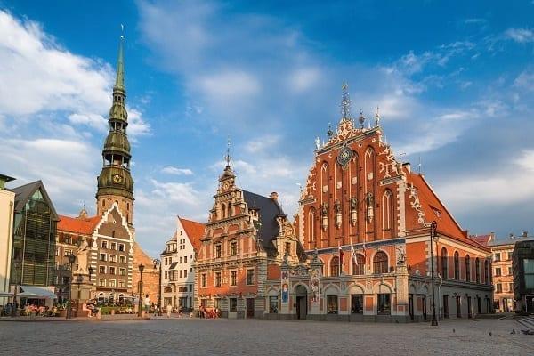 Baltic Holiday, Riga, Latvia