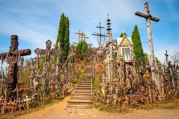 Baltic Vacation Packages, Hill of Crosses, Lithuania