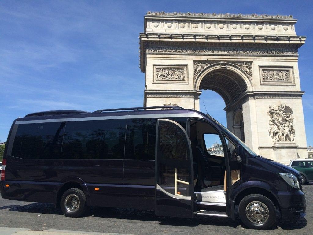 Paris Minibus transfers