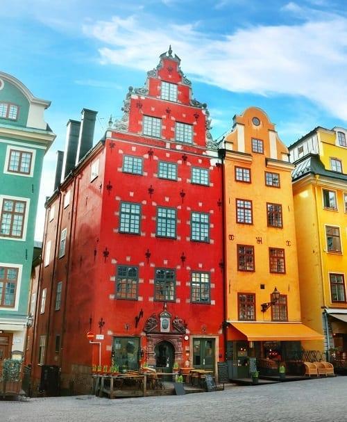 Stockholm travel destination