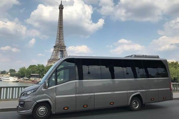 Charter bus rental Frankfurt, Germany