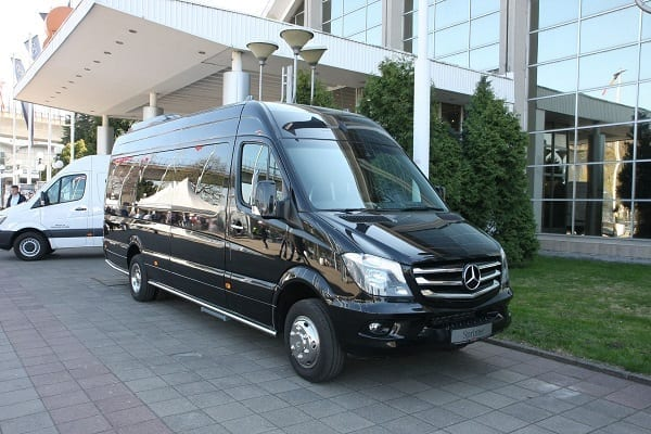 Minibus rental Brussels