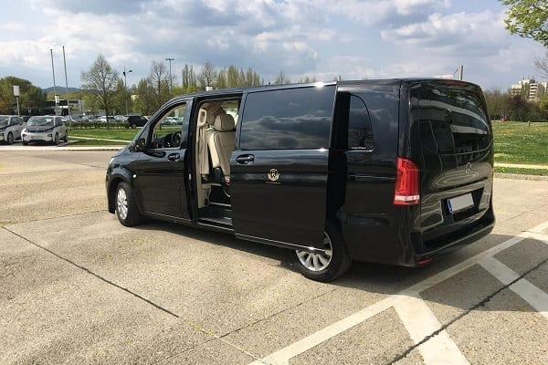 Business Van with driver