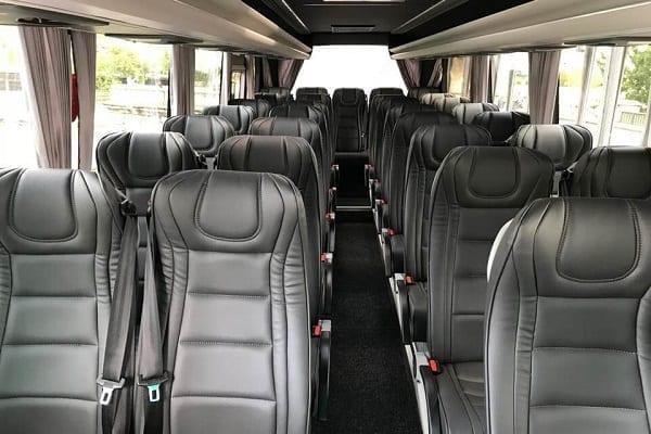 Charter Bus hire Paris