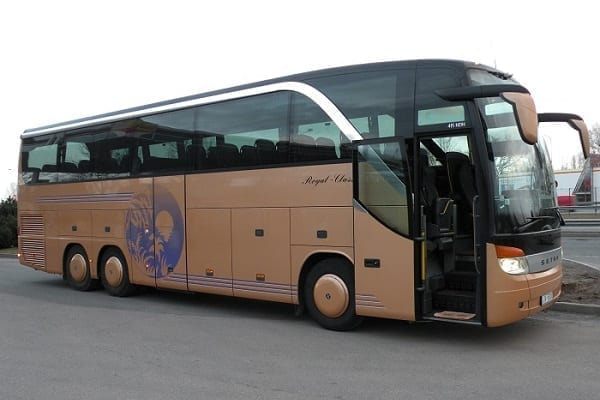 Charter bus transfer Paris, France