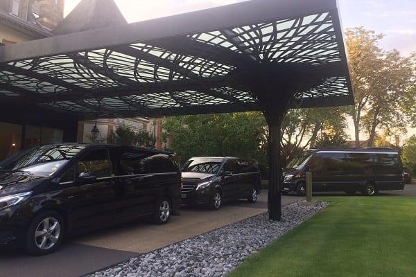 Mercedes Minibus event transport