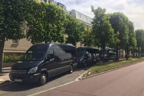 Minibus event transport