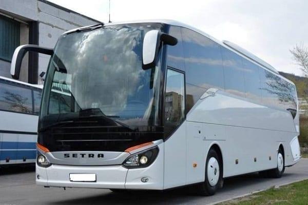 Cruise Shipe transport, tour bus
